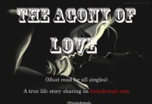 The Agony of love